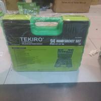 "hand socket set 94pcs 1/4""-1/2"" DR TEKIRO"