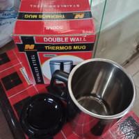 Mug Double Wall 500 ml Nagako. Cangkir Panas Dingin