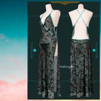 Black of Ailing Sexy Cheongsam Nightgown-Nightdress Lingerie