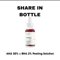 the ordinary share 5ml aha 30% bha 2% peeling solution