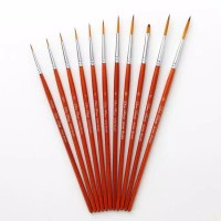 Kuas Lukis Cat Air Minyak Akrilik Set Oil Paint Brush