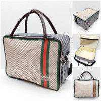 Travel bag koper spon tas jinjing gucci