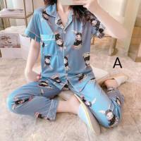 Piyama Wanita 17 Baju Tidur Set Cewek Katun Bajutidur Pajamas Murah