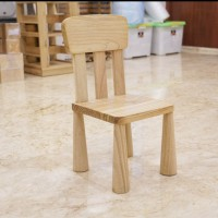 Children Wooden Chair / Kursi Kayu Anak / Premium - Finishing Natural