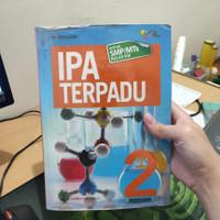 Buku Pelajaran Ipa Terpadu Kelas smp 2 penerbit Erlangga timabdiguru