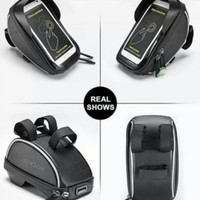 Rockbros Tas Stang Sepeda Waterproof Original