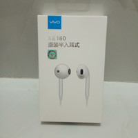 Headset VIVO V5 Plus XE680 Earphone Handsfree Original 100%