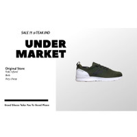 sepatu sneakers piero city plus green