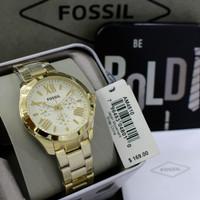 Jam Fossil AM 4510 4511 original bergaransi free tin box