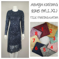 9345   Indah Kebaya Abaya Kurung Modern Encim Kutubaru Bali Maya Murah