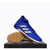 Sepatu Futsal Adidas Predator 19.3 IN Blue Silver BB9080 ORIGINAL BNIB