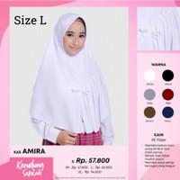 Hijab Instan Rabbani Amira L Jilbab Rabbani Khimar Scarf Kerudung