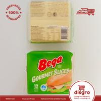 Bega cheese gourmet slices 12pcs keju slice bega gourmet slices
