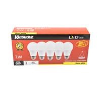 Krisbow Bohlam LED 7w set 5 pcs - Warm White