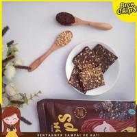 Kue kering Brownies Snack Kiloan Makanan Kekinian Bronchips KACANG - Kacang