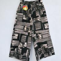 Celana Kulot Panjang Anak Model Baru Katun Rami 3 Warna 8-11 thn
