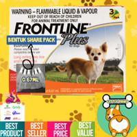 Obat Kutu Anjing Frontline Plus 100% Original (Tetes) Repack 0.67ml