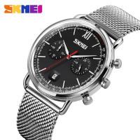 Jam Skmei 9206 original chrono stopwatch free box