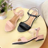 Sandal Heels Fashion Wanita Sendal Kerja BK02