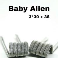 Baby Alien Fused Clapton Coil Full Ni80 by Aghanim Coil