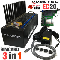 Modem Pool FOXCOM 16 Port USB 4G Quectel EC20