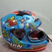 Helm Nolan N64 Aquarium. Limited Edition. Size XL. original, mulus