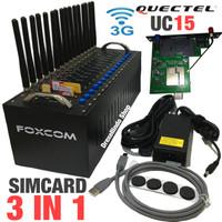 Modem Pool FOXCOM 16 Port USB 3G Quectel UC15