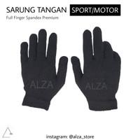 Sarung Tangan Motor - Sepeda Hitam Full Finger