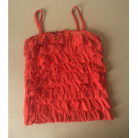 Tank top anak Justice orange