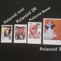 Cetak foto polaroid ukuran 3R