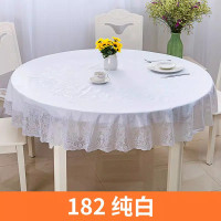 Taplak meja makan anti air bulat 180 cm