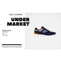 sepatu sneakers pria piero jogger sunrise blue