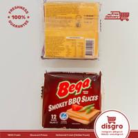 Bega cheese slices smokey BBQ slices cheddar cheese keju slice 200gr