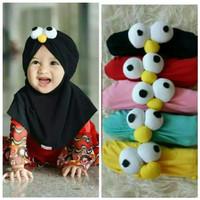 Kerudung bayi/jilbab anak mata elmo