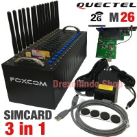 Modem Pool FOXCOM 16 Port USB 2G Quectel M26