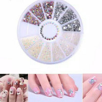 HN - DIY Nail Art Decorations Rhinestone Crystal