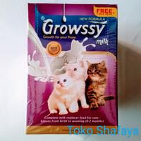 Susu Kucing Growssy 1 Box/Kotak isi 10 Sachet + 1 Sachet