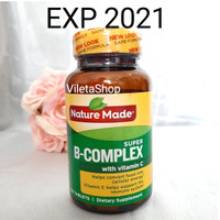 Nature Made Super B Complex With Vitamin C isi 140 Tablest