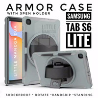 Case Samsung Galaxy Tab S6 Lite Armor Cover Premium Casing P615