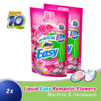 Attack Easy Liquid Romantic Flowers 800ml Twinpack