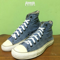 SEPATU CONVERSE CHUCK TAYLOR ALL STAR RIPPED BLUE SECOND / BEKAS