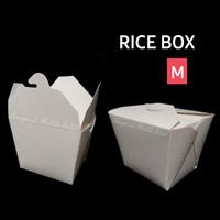 Paper rice box ukuran M