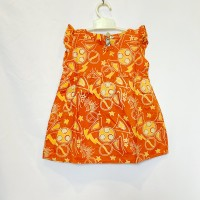baju bayi perempuan batik dress baby kado lahiran born gift asli katun
