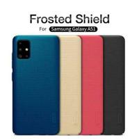 Harscase nillkin frosted shield case Samsung Galaxy A51 - Hitam