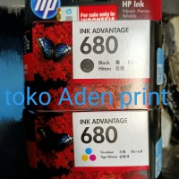 tinta hp 680 original black/colour