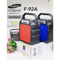 Speaker FLECO F-92A - Speaker Portable Mini Bluetooth Radio Fm F-92B