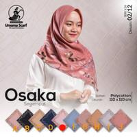 jilbab umama motif/kerudung murah/bahan VOAL motif