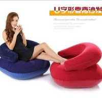 Sofa Santai Angin Intime Flocked Arm Chair