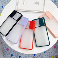 Samsung S20 Slider Protection Camera Matte Transparan Soft Case