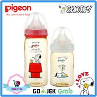 BOTOL SUSU PIGEON PPSU DISNEY SNOOPY LIMITED EDITION - Snoopy 240ml